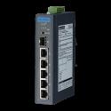 EKI-2706G-1GFP - przemysłowy switch PoE+ do sieci CCTV