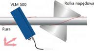 - ASTECH - Czujnik VLM500 - zastosowanie z obracającą się rurą