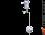Sygnalizator pływakowy Trimod'Besta SIL 1 / SIL 2 do montażu od góry zbiornika