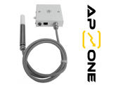- AP AUTOMATYKA - Ethernetowy przetwornik wilgotności i temperatury z sondą przewodową