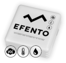 Bezprzewodowy rejestrator jakości powietrza (VOC), temperatury i wilgotności